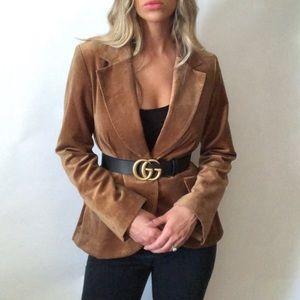 •H&M• velvet blazer